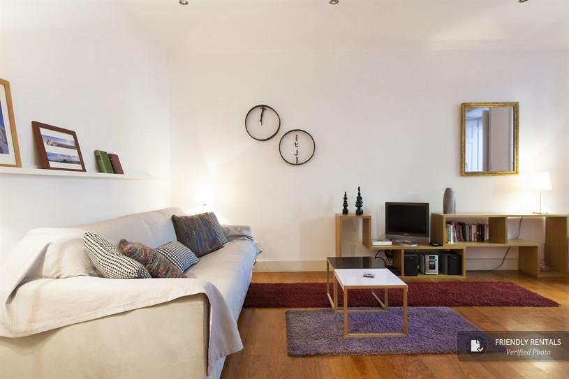 Apartment flat to rent in Principe Real, close to Bairro Alto, Lisbon