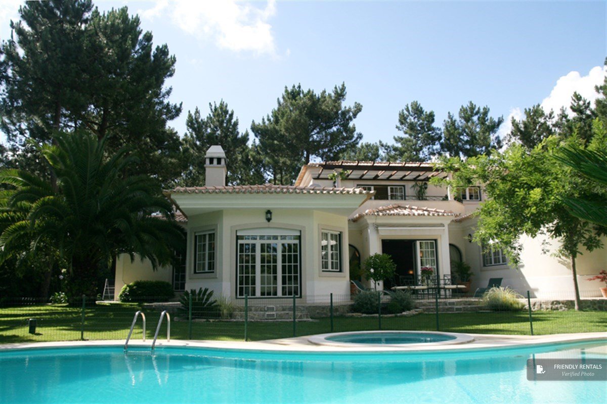 The Villa Golfe next to Lisbon, Azeitão