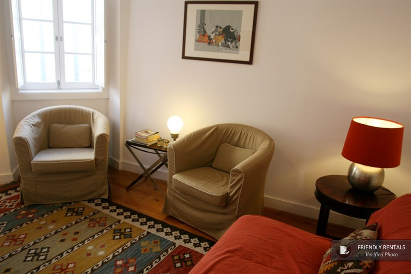 Flat to rent in Sao Jorge Castle, Lisbon, Portugal.