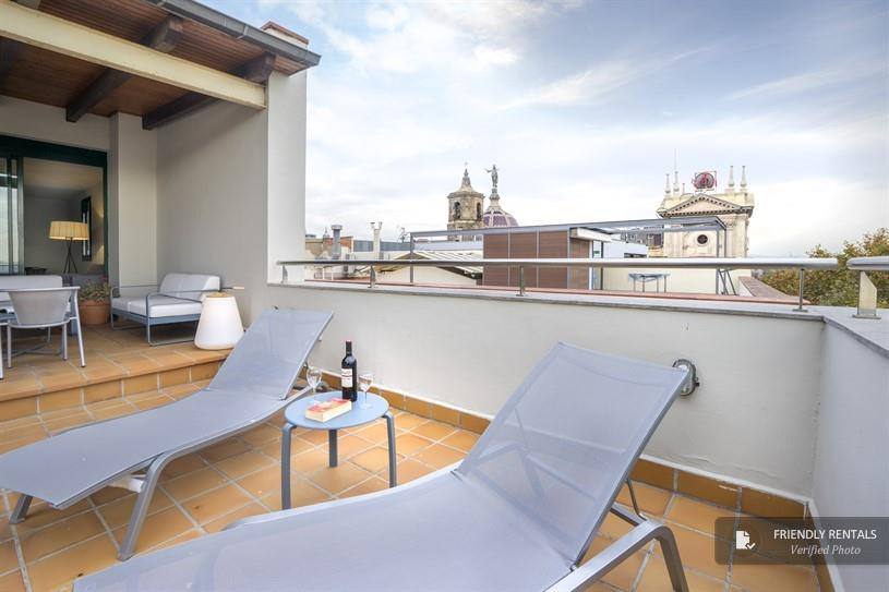 L'appartement Leonardo Penthouse I à Barcelone