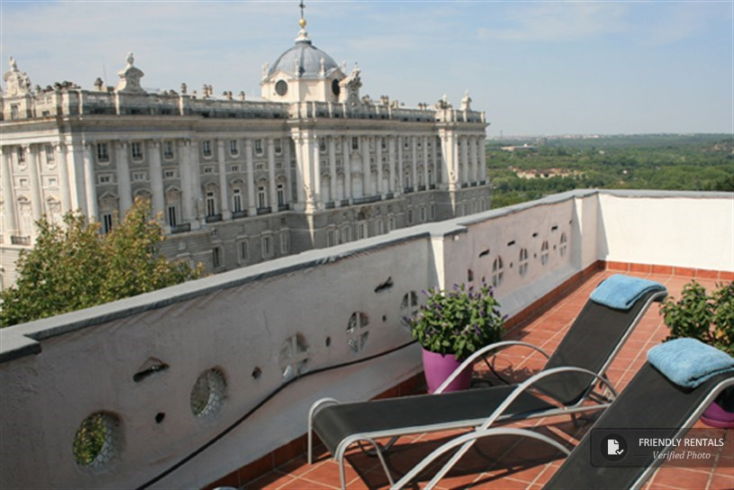 Das Apartment Palacio Real IV in Madrid