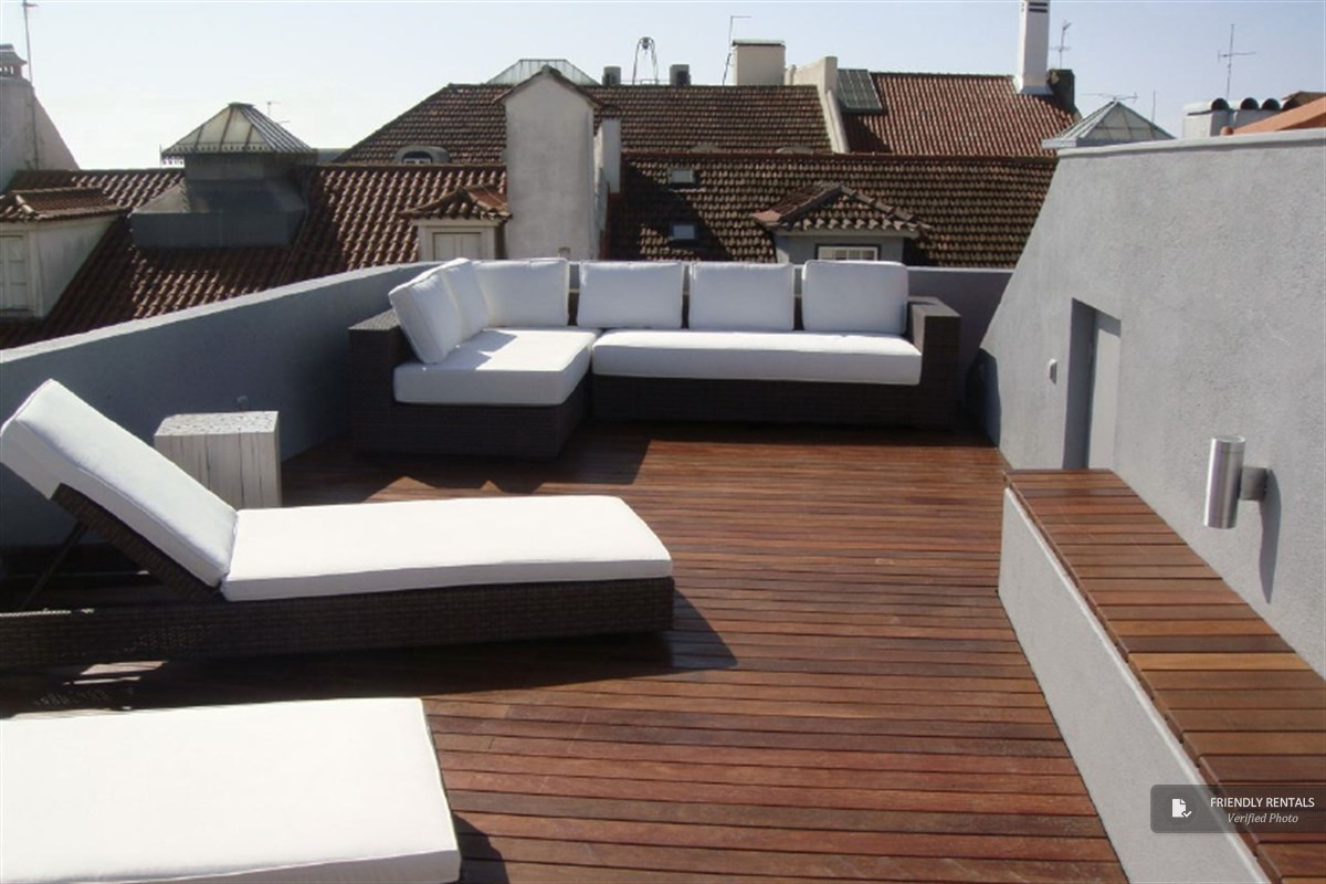 The Bairro Terrace Apartment in Lisbon