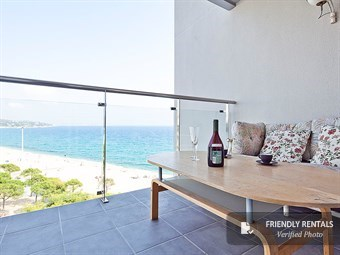 Das Panorama Apartment an Platja d'Aro Strand