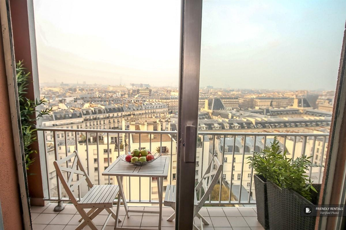 Das Panoramic Apartment in Paris