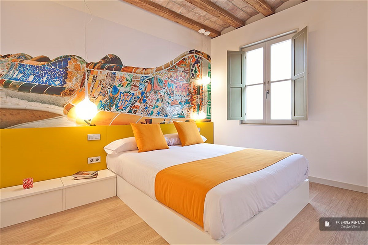 The PTF Parc Guell Apartment in Barcelona