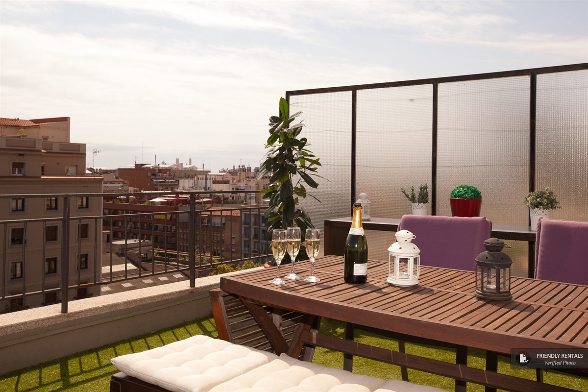Das Boutique Terrace Apartment in Barcelona