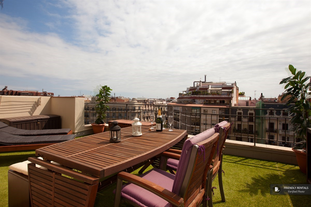 The Boutique Terrace Apartment in Barcelona