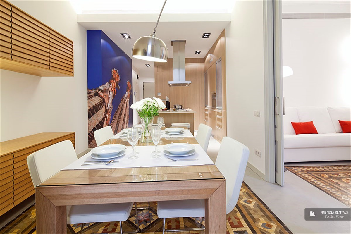 The PTF Sagrada Familia Apartment in Barcelona