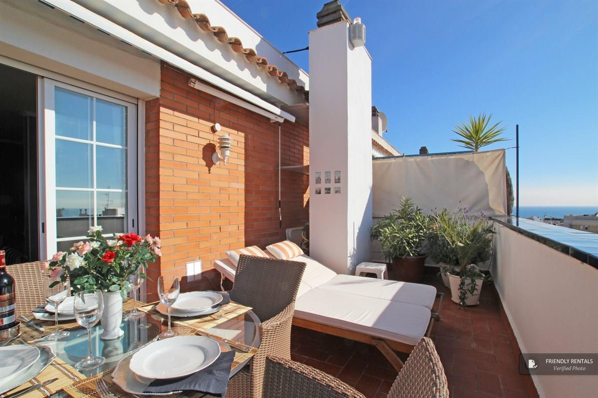 Das Sunset Apartment in Sitges