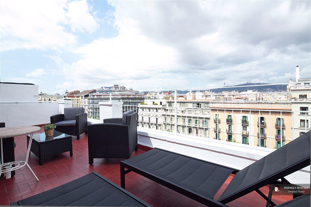Das Gran Via Terrace IV Appartement in Barcelona