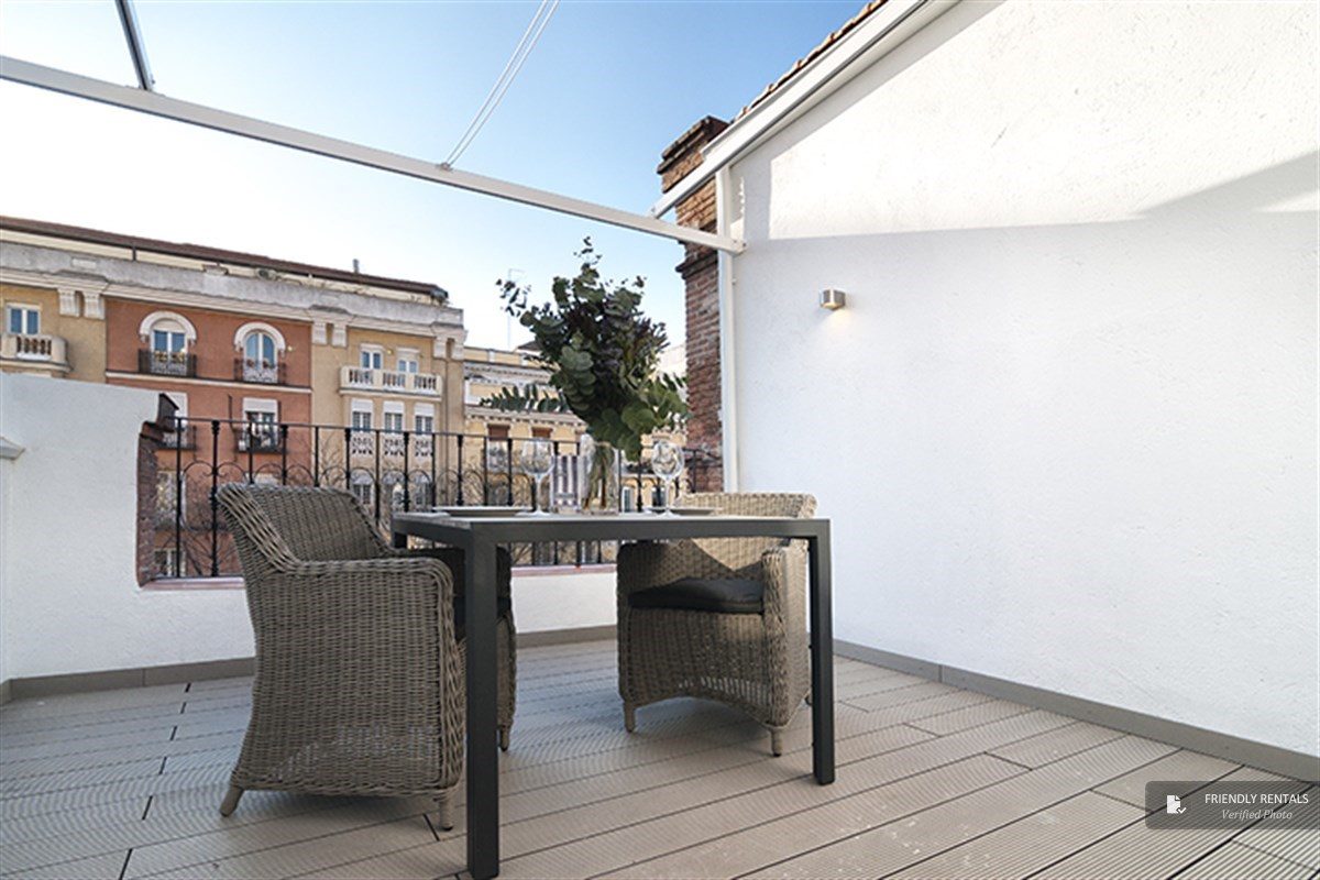 Das Apartment Olavide VI in Madrid