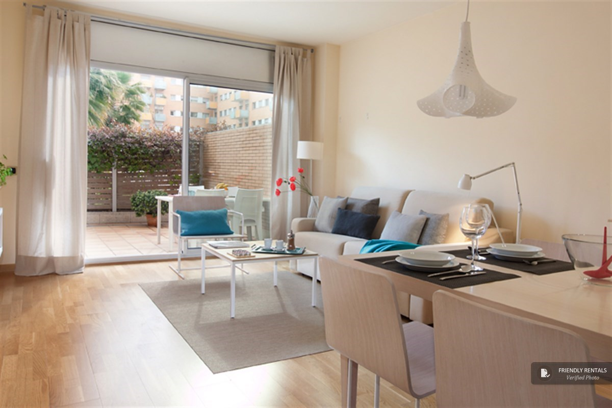 The Olimpic Garden Apartment in Barcelona
