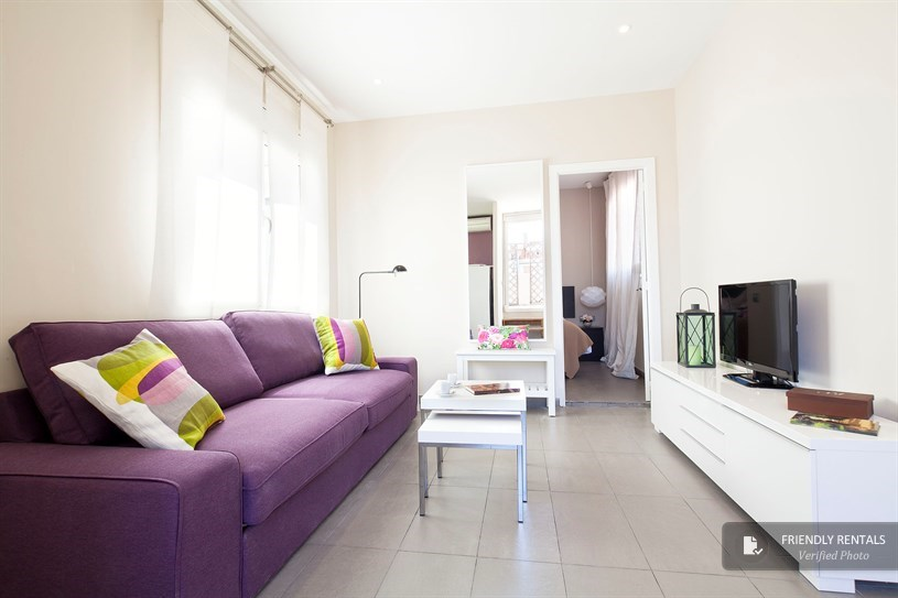 Apartment with terrace in Barcelona (Plaza España / Fira)