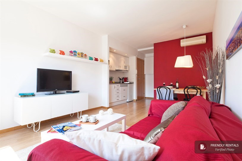 Holiday apartment in Barcelona city center