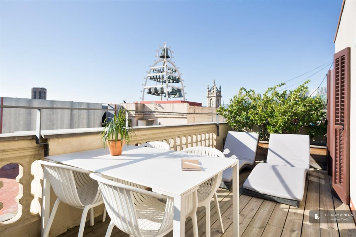 L´appartamento Attic Terrace a Barcellona