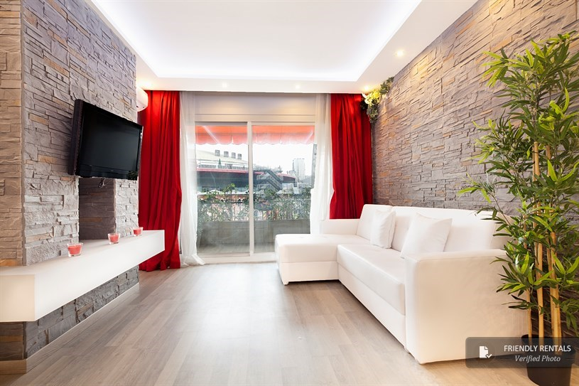 Holiday apartment in Plaza España, Barcelona