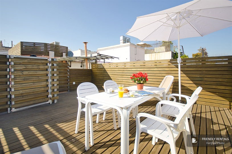 L'appartamento Style Terrace Green a Barcellona