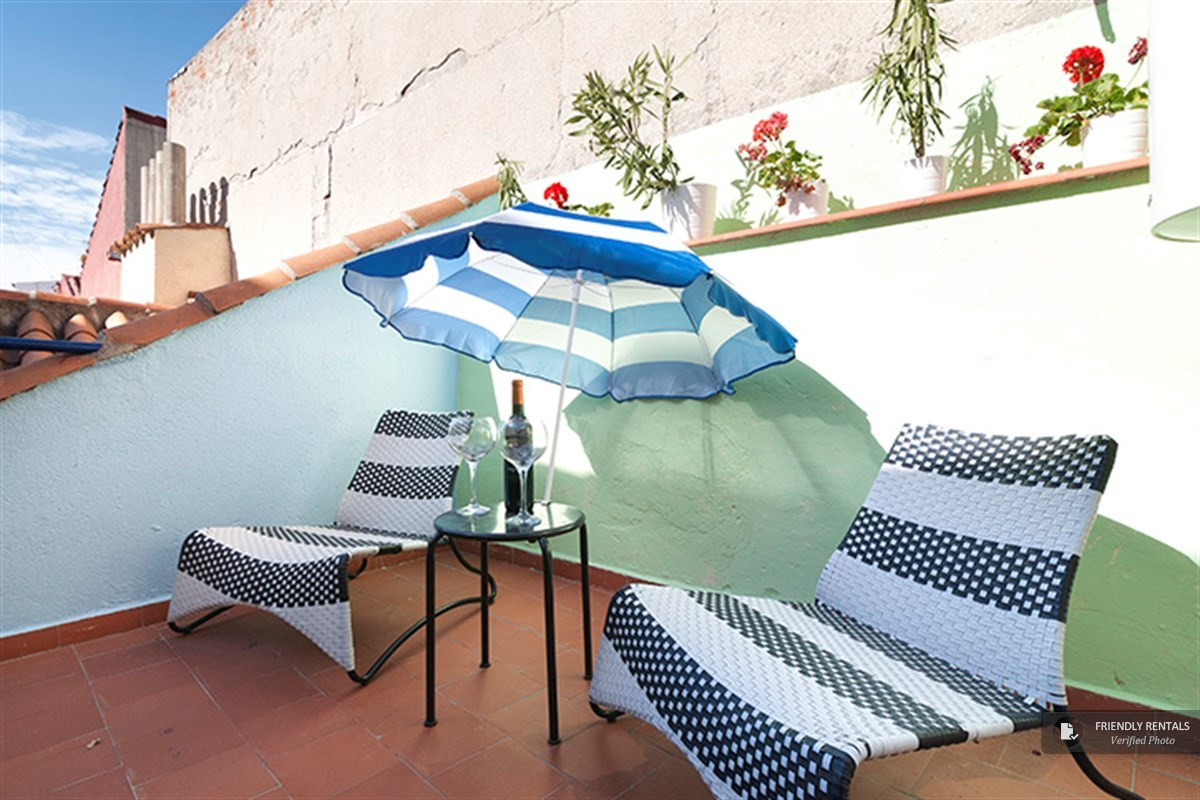 The Chueca Terrace II apartment in Madrid