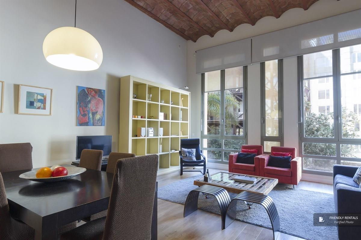 The Monet II Apartment in Barcelona