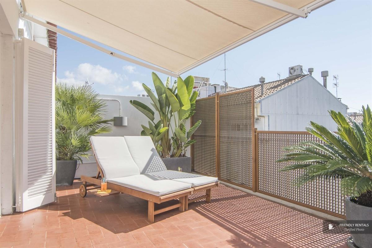 The Gaudi Penthouse apartment in Sitges