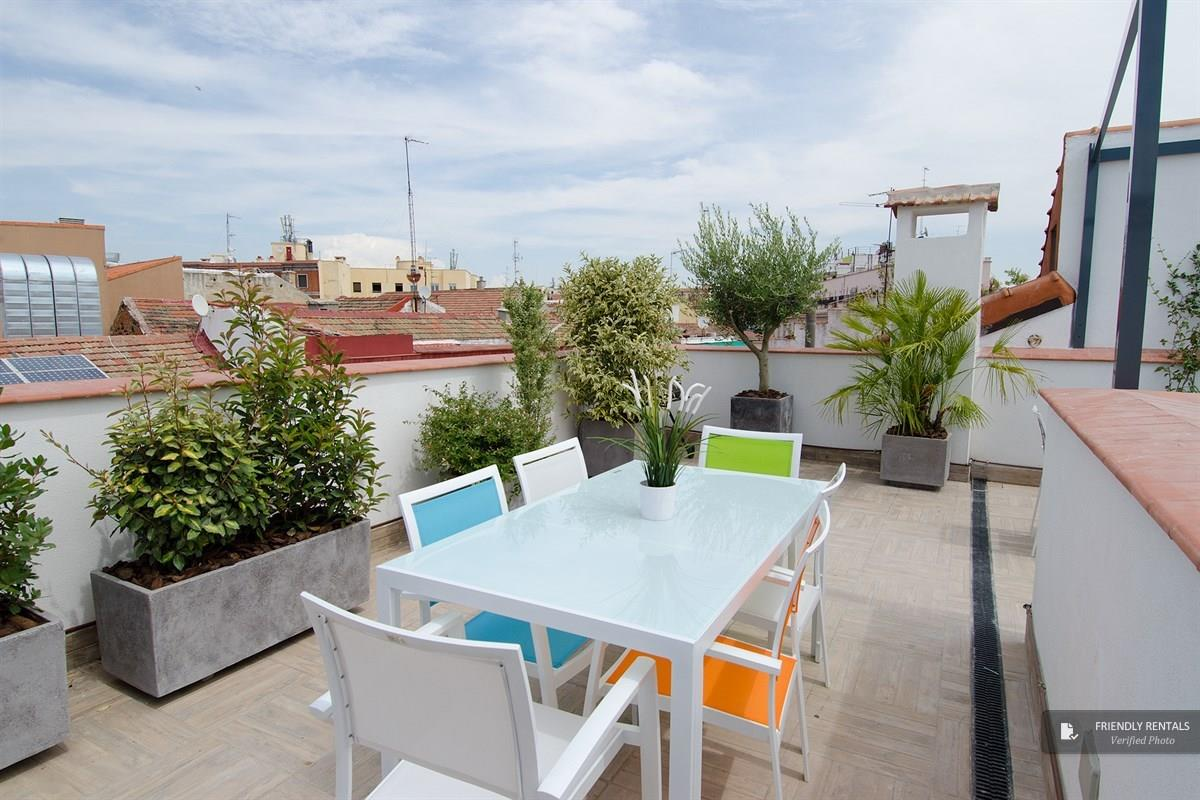 The NoMad La Latina Attic II apartment in Madrid