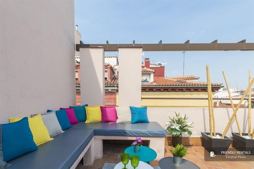 Het appartement MadVille Attic II in Madrid