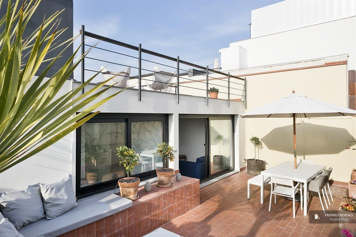 The Jasmine Terrace apartment in Barcelona