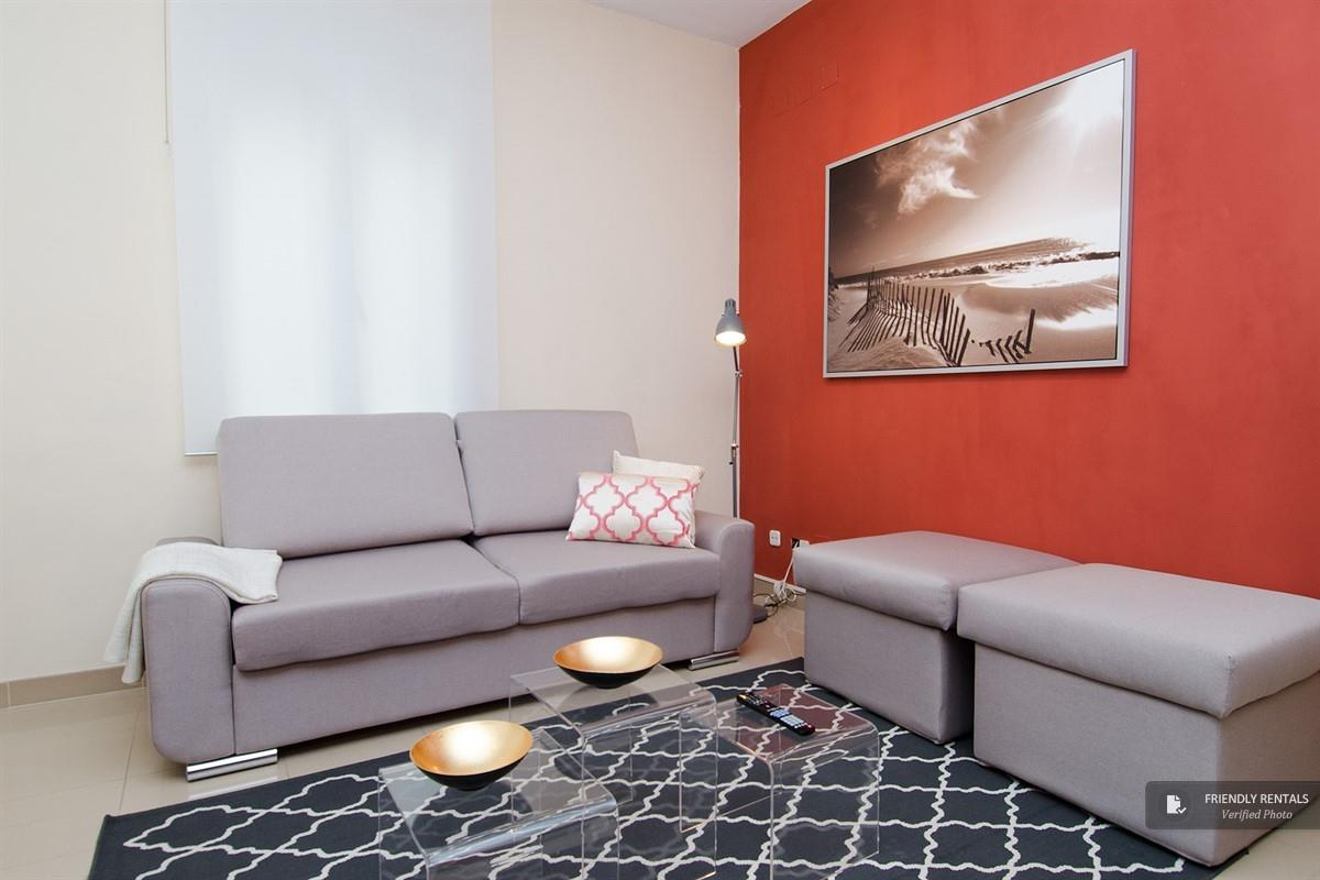 The Retiro VI apartment in Madrid
