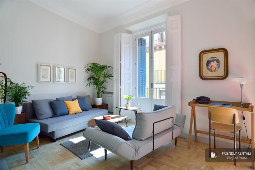 Das Apartment Las Letras I in Madrid