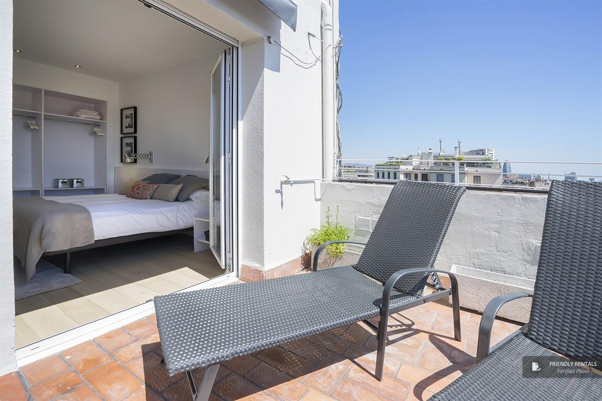 Het Gran Via Terrace II Appartement in Barcelona