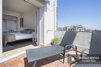 The Gran Via Terrace II Apartment in Barcelona