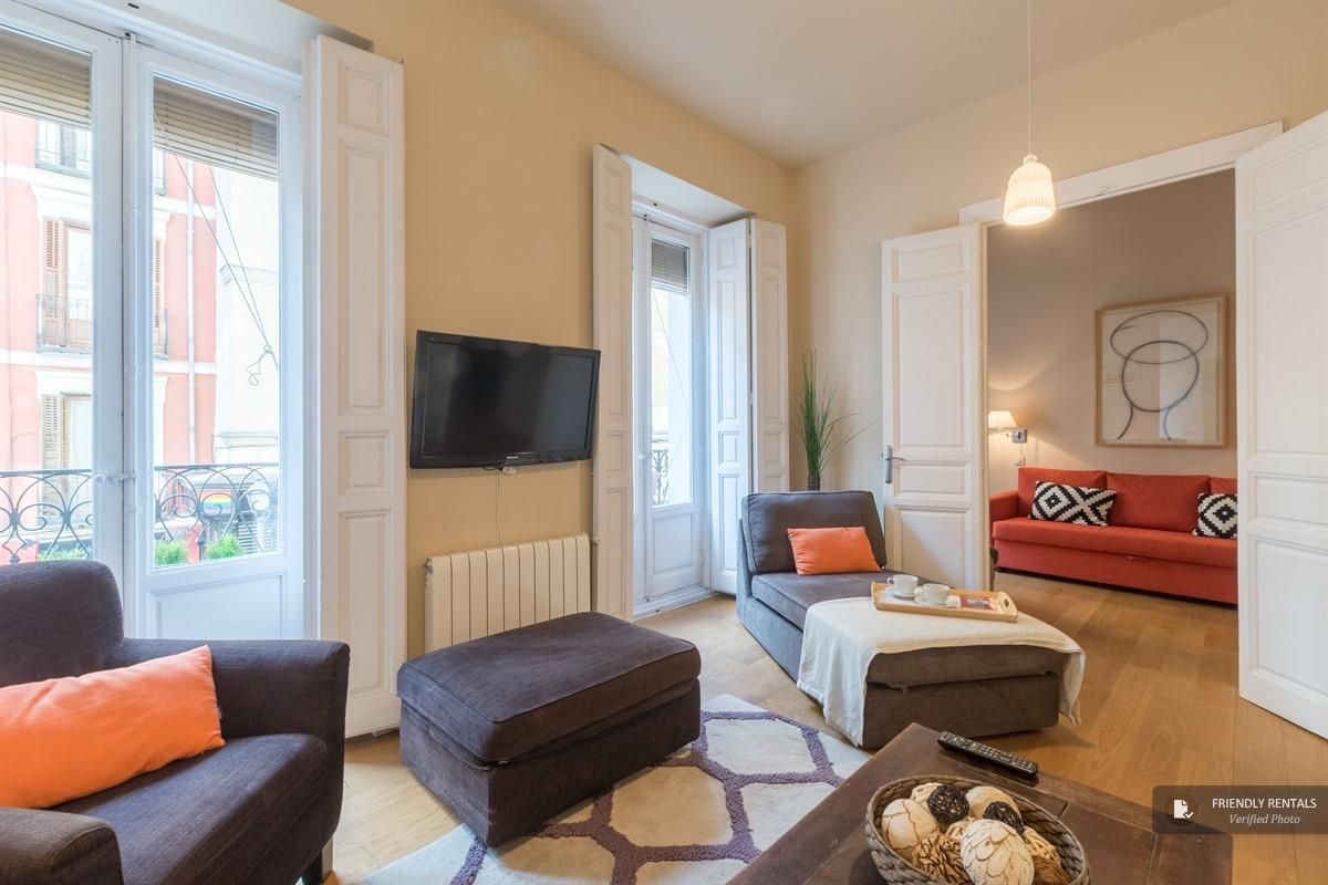 The San Anton II apartment in Madrid
