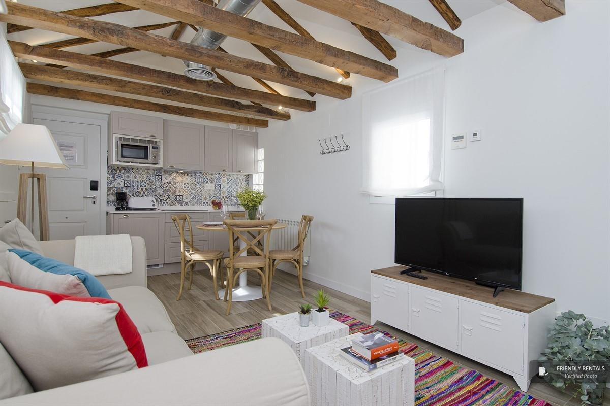 Das Apartment Nomad Rastro Attic in Madrid