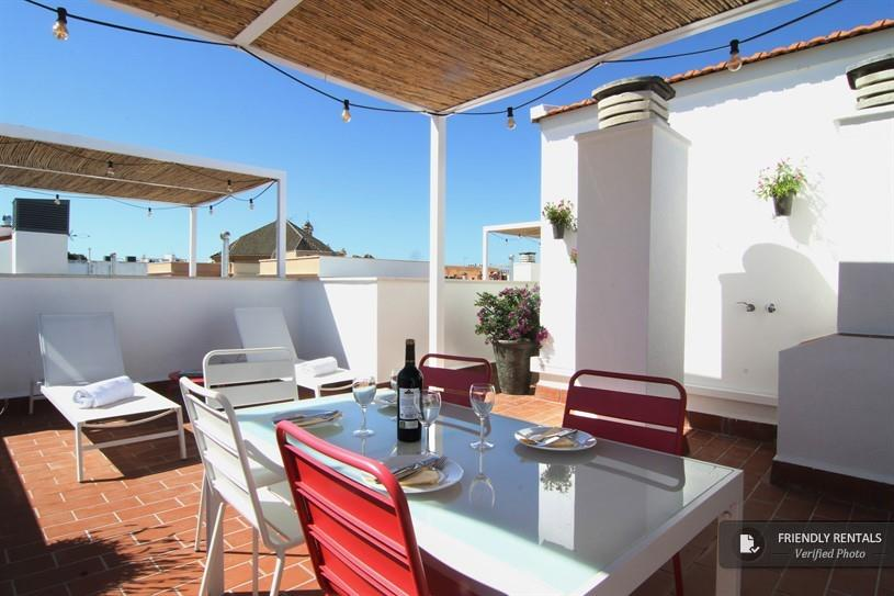 Vacation Apartment in Seville city center with pool.