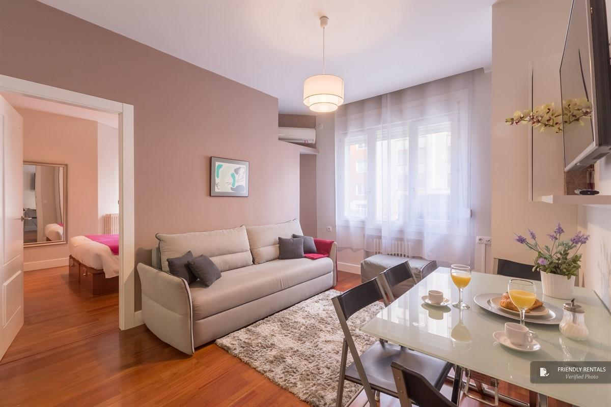 The Gran Via Exclusive II apartment in Madrid