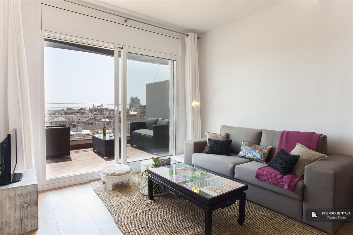 Das Gran Via Attic III Appartement in Barcelona