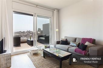 The Gran Via Attic III Apartment in Barcelona