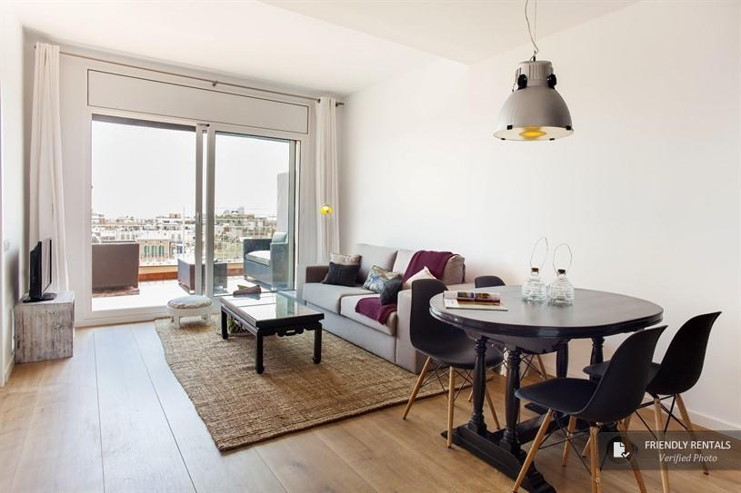 Het Gran Via Attic III Appartement in Barcelona