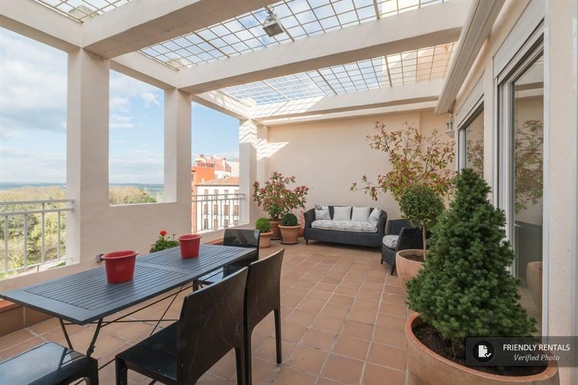 L'appartement Rosales Terrace à Madrid