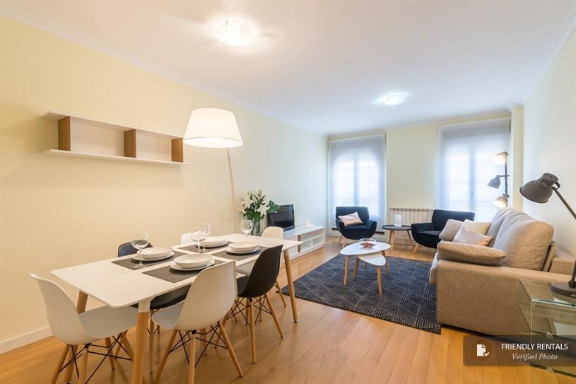 Het appartement Retiro II in Madrid
