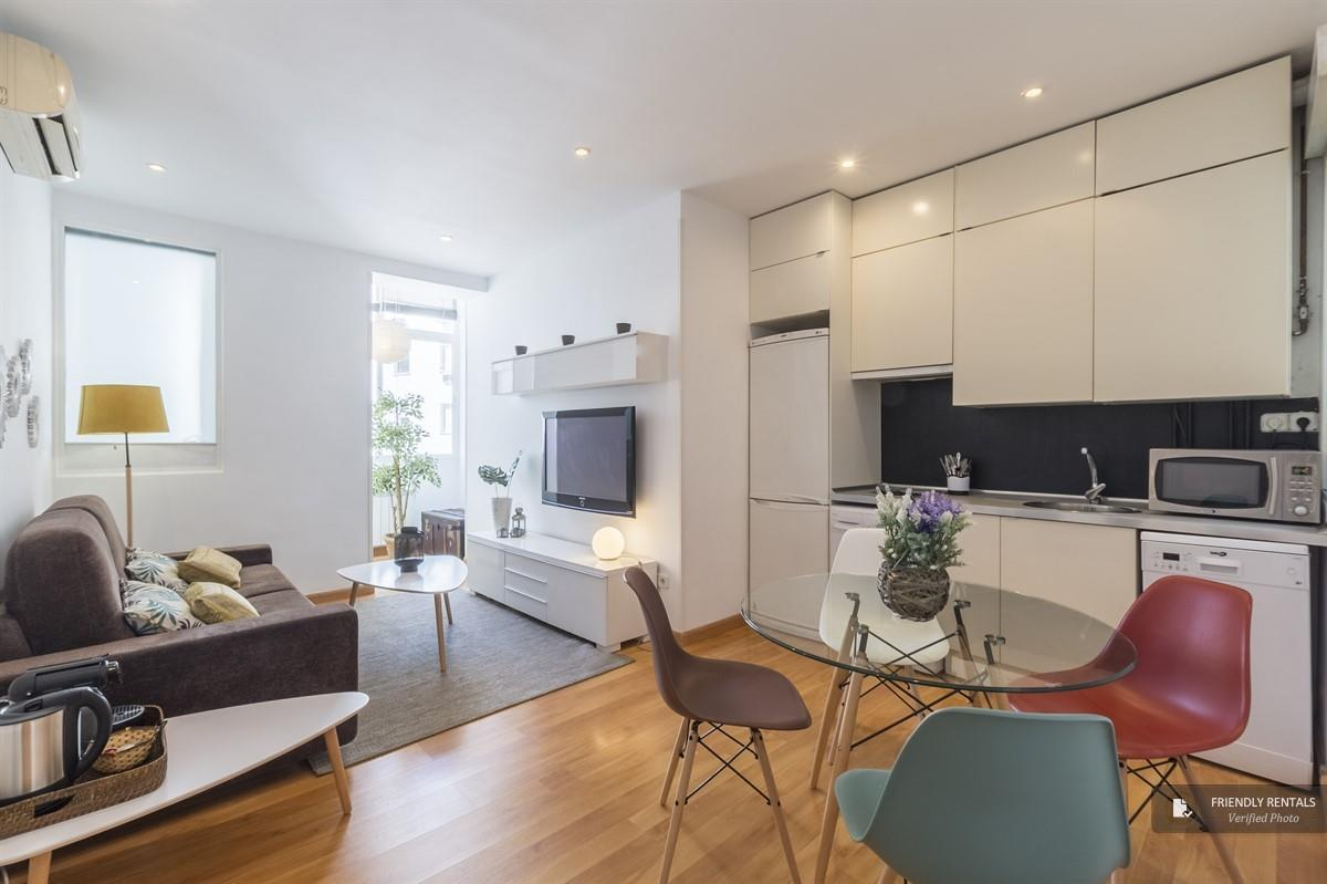 The Abascal II apartment in Madrid