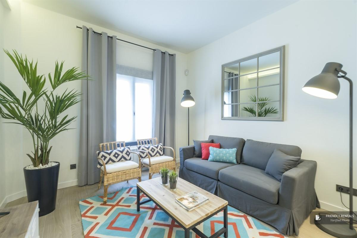 Das Apartment Bravo II in Madrid