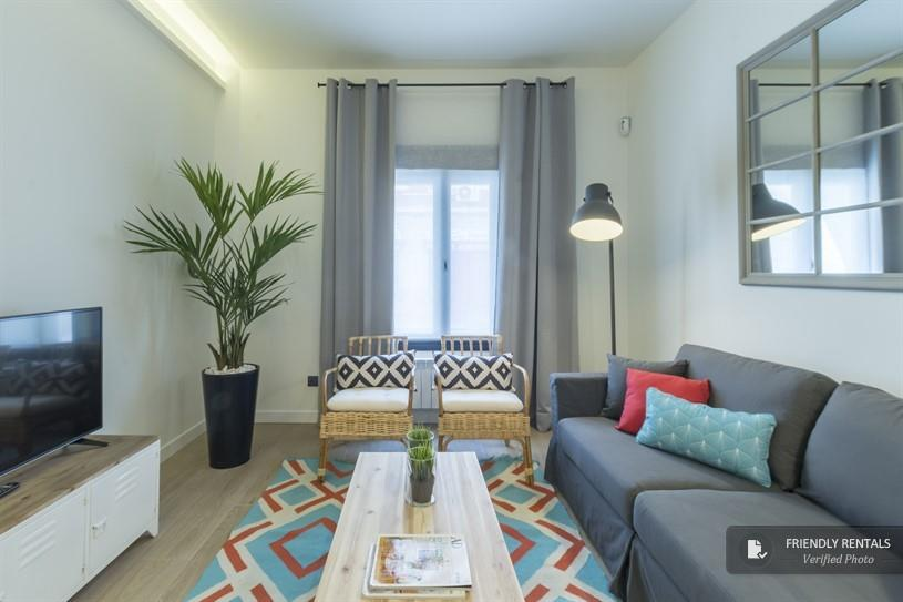 Het appartement Bravo II in Madrid