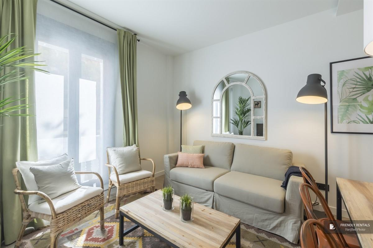Das Apartment Bravo III in Madrid