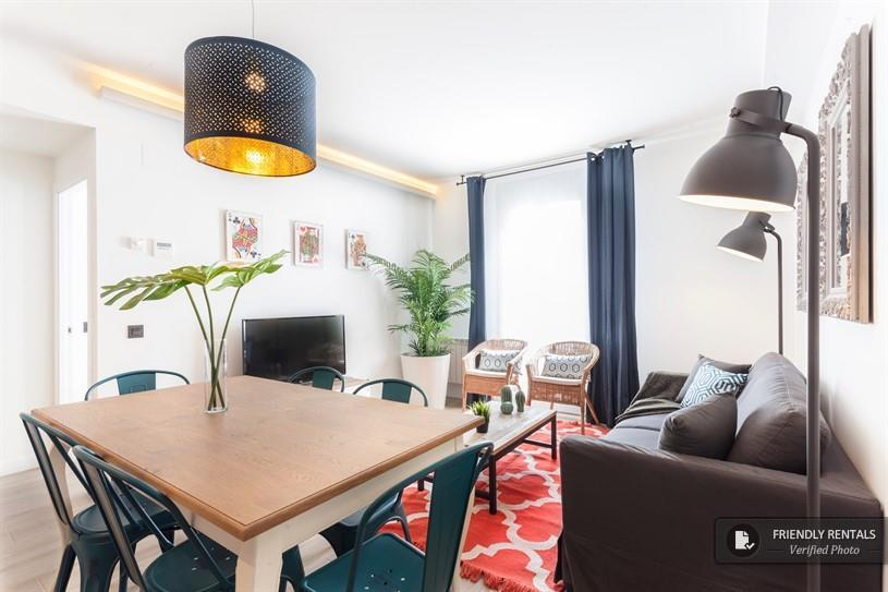 Das Apartment Bravo IX in Madrid