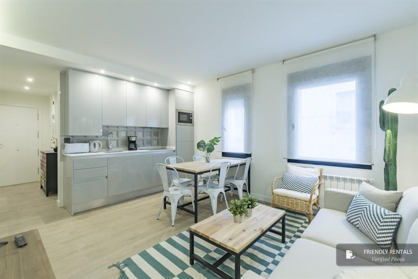 Das Apartment Bravo VII in Madrid
