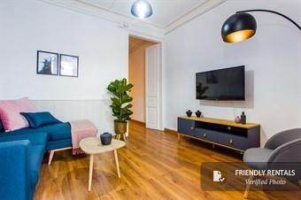 The Rocafort Eixample 24 apartment in Barcelona