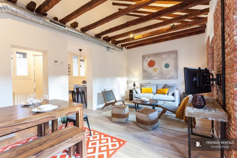 Het appartement The Barn 69 Duplex in Madrid