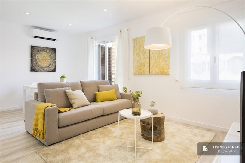 The Constitucion apartment in Barcelona