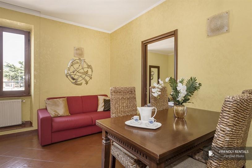 The Candia House apartment in Rome